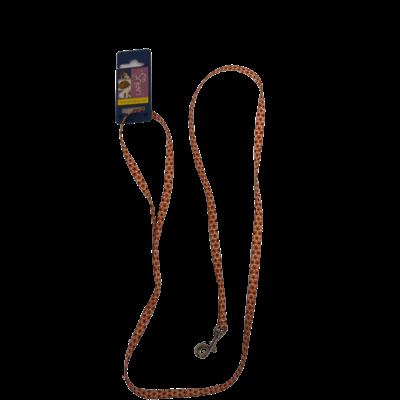 Leiband - Oranje zwarte Bloem 1 x 120 cm