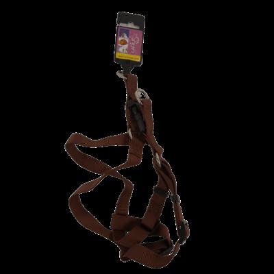Hondentuig - Bruin 2 cm