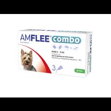 Krka Amflee Combo Hund - S 2-10 kg 3 pipetten - 01.05.2020
