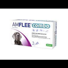 Krka Amflee Combo Hund -  XL > 40 kg 3 pipetten - 01.07.2020