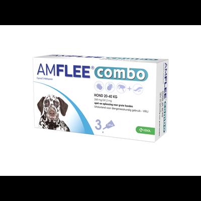 Krka Amflee Combo Hund - L 20-40 kg 3 pipetten - 01.05.2020