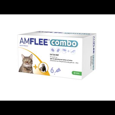 Krka Amflee Combo Katze - 6 pipetten - 01.06.2020