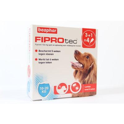 Beaphar Fiprotec Dog - 10-20 kg 4 pipetten - 01.05.2020