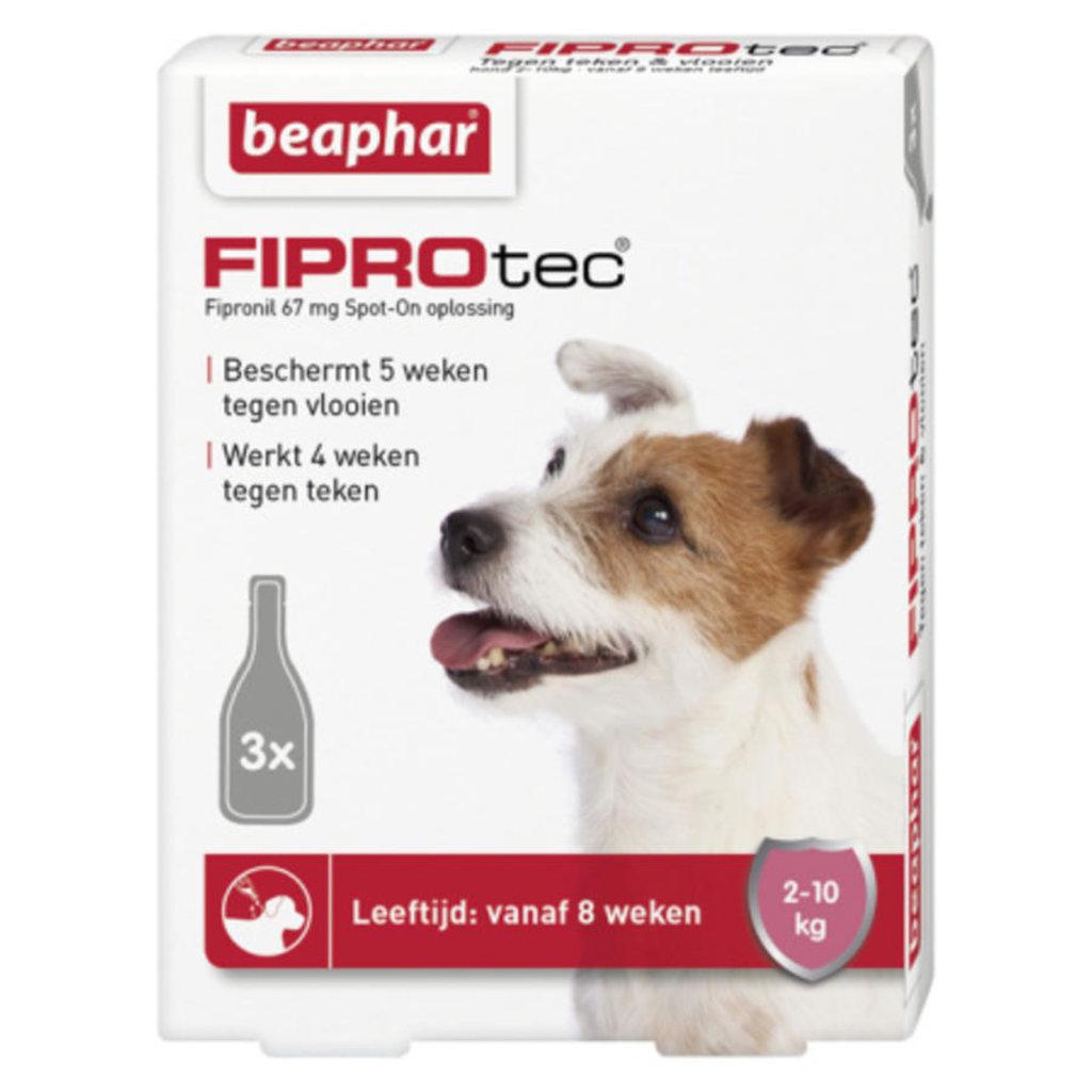 Beaphar Fiprotec Hond - 10 kg 3 pipetten - 01.02.20202