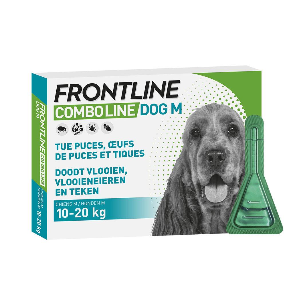 Frontline Frontline Spot-On Hond - M 10-20 kg 6 pipetten - 01.05.2020