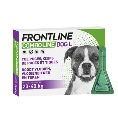 Frontline Frontline Spot-On Dog - L 20-40 kg 6 pipetten - 01.04.2020
