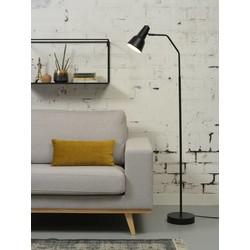 Verstelbare Vloerlamp Valencia Zwart