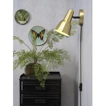 Wandlamp Valencia goud