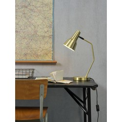 Verstelbare Wandlamp Valencia Goud