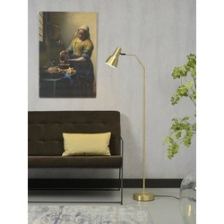 Verstelbare Vloerlamp Valencia Goud