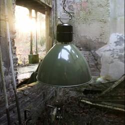 Hanglamp Frisk groen Ø50cm