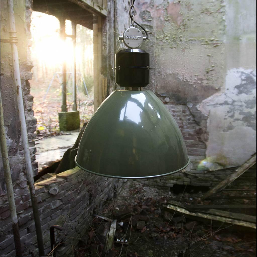 Grote Hanglampen! De stoere industriële hanglamp Frisk groen7696G van Anne