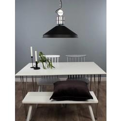 Showroommodel: hanglamp Zappa zwart Ø54cm
