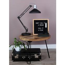 Tafellamp Zappa zwart