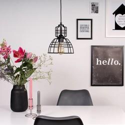 Hanglamp Mini MarkIII zwart Ø22cm