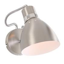 Wandlamp Spring staal