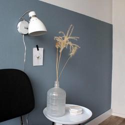 Verstelbare Wandlamp Spring Wit
