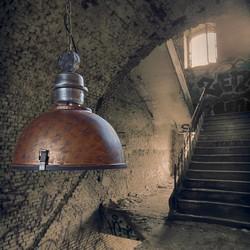 Hanglamp Bikkel Ø42 cm Bruin