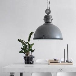 Hanglamp Bikkel Ø42 cm Grijs