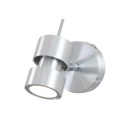 Opbouwspot Natasja LED éénlichts staal
