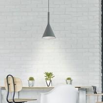 Hanglamp Cornucopia 1-lichts grijs
