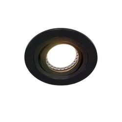 Inbouwspot Round zwart
