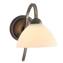 Wandlamp Capri brons boog