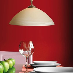 Hanglamp Capri 1-lichts brons