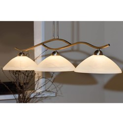 Hanglamp Capri 3-lichts brons