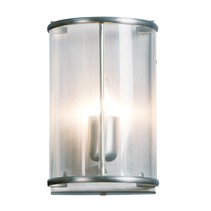 Wandlamp Pimpernel staal