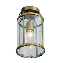 Plafondlamp Pimpernel Glas Brons