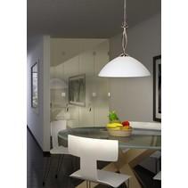 Hanglamp Capri 1-lichts staal