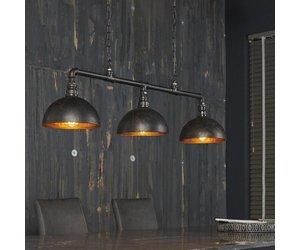 Industriële hanglamp de industriële hanglamp pipe lichts zwarte