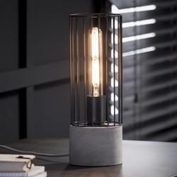 Tafellamp Onix Draadijzer Betongrijs