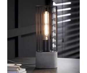 Industrieel landelijke tafellamp de tafellamp onix draadijzer