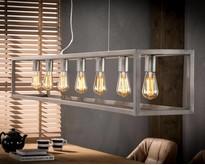 Moderne - Hanglamp - Zilver - 7 lichts - Quinn