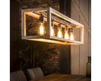 Landelijke - Hanglamp - Grijs - 5 lichts - River