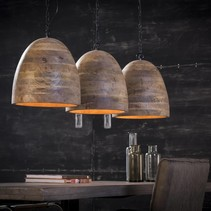 Hanglamp Kingston 3-lichts mango naturel