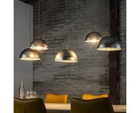 Industriële - Hanglamp - Oud zilver - 5 lichts - Teide