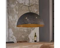 Industriële - Hanglamp - Zwart / bruin - 70 cm - Cambal