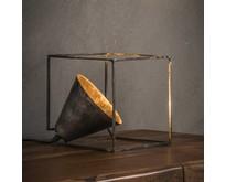 Tafellamp Bink metaal / oud zilver