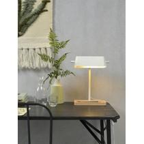 Tafellamp Cambridge wit