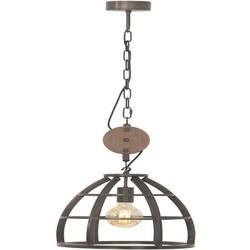 Hanglamp Birdie Ø35 cm zwart / hout
