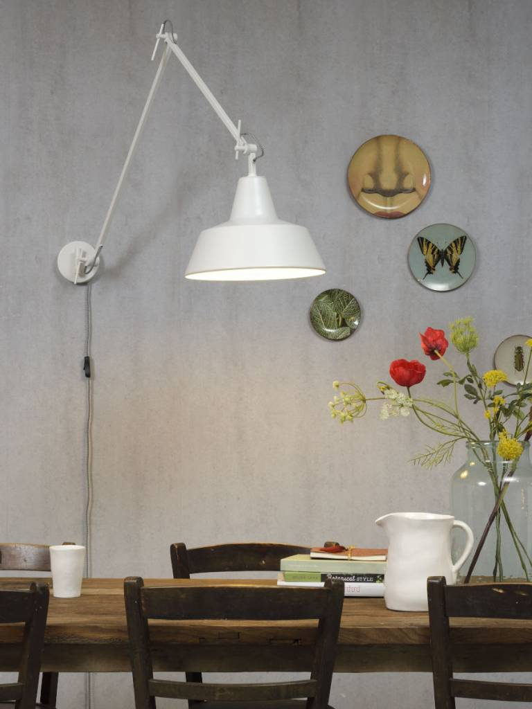 Its About Romi.Moderne Wandlamp Its About Romi Moderne Witte Wandlamp Chicago Wa W