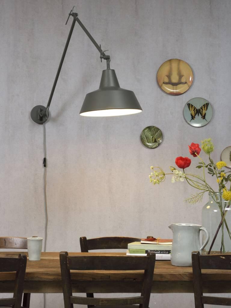 Its About Romi.Moderne Wandlamp Its About Romi Moderne Grijsgroene Wandlamp