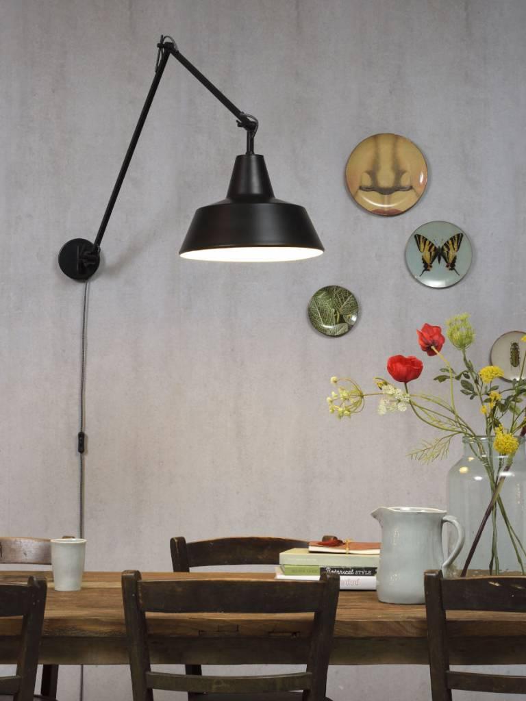 Its About Romi.Moderne Wandlamp De Moderne Zwarte Wandlamp Chicago Van About Romi