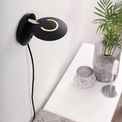 Wandlamp Zenith LED zwart