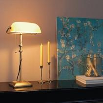 Bankierslamp Ancilla brons