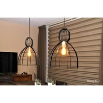 Hanglamp Ibiza zwart
