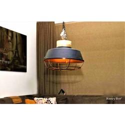 Hanglamp Mumbai Hout Zwart